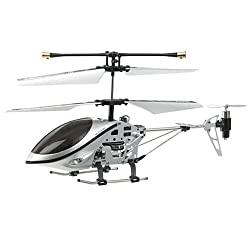 Iphone/Itouch/Ipad Remote Controlled 3-Channel i-helicopter with GYRO (Silver)