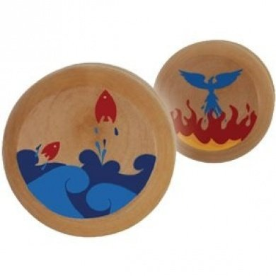 ImagiPLAY Eco YoYo - Fire/Water - 1