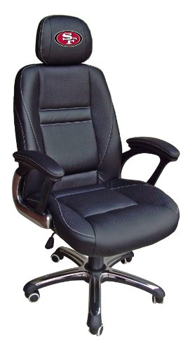 NFL San Francisco 49ers Leather Office Chair at Amazon.com
