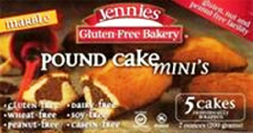 Jennies Marble Pound Cakes, Mini, 7-Ounce