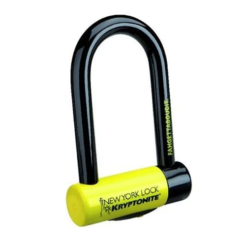 Kryptonite New York Fahgettaboutit Mini Bicycle U-Lock