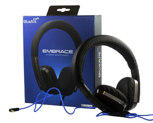 Blueant Embrace Stereo Headphones With Apple Remote For Iphone 4, 5 And Ipad