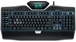 Logitech G19 S Clavier Gaming AZERTY Rétroéclairé Noir