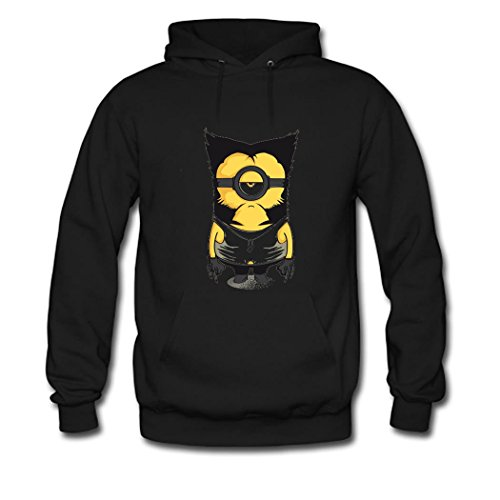 Funny-Minion-Despicable-Me-Wolverine-Funny-For-mens-Classic-Cotton-Hoodies