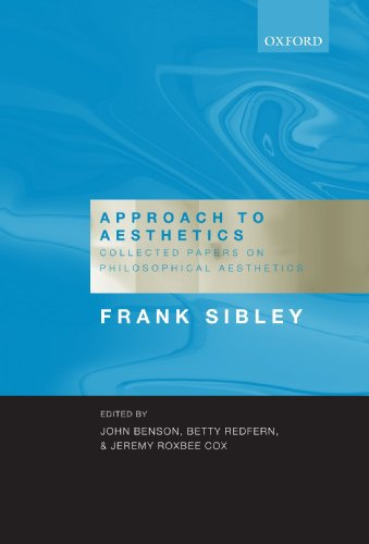 Approach to Aesthetics: Collected Papers on Philosophical Aesthetics