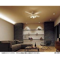 薄型 LED 大風量 リモコン 簡易取付 パナソニック 北欧 シーリングファン ライト 【PDB-038】