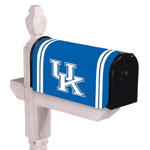 "NCAA University of Kentucky Wildcats Outdoor Magnetic Mailbox Cover 24"" x 18"" at Amazon.com"
