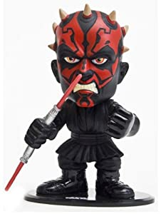 Joy Toy 2056 - Figura de Darth Maul de Star Wars con la cabeza móvil (14 x 17 cm)