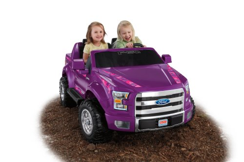Fisher-Price Power Wheels Ford F-150-Purple Camo