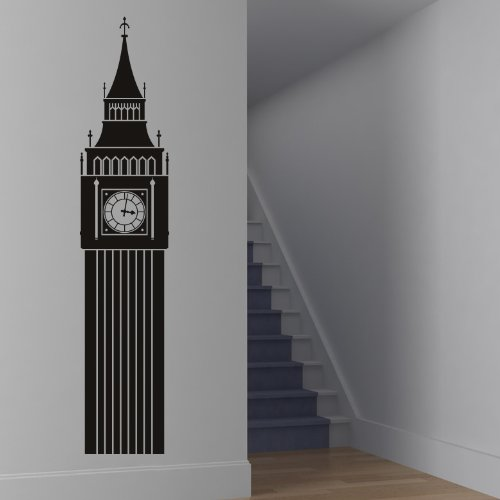 London Big Ben Decorative Wall Art Stickers Decal