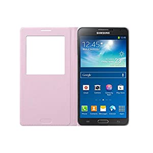 Samsung BT-EFCN900BI Etui folio S-View pour Samsung Galaxy Note 3 Rose