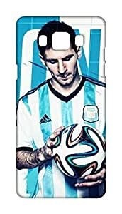 Lionel Messi Design Mobile case back cover for Samsung Galaxy J5 2016 - Printed Designer Cover SGJ5NMES4