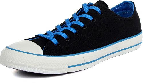 Converse Men's CT OX Black/Blue Basketball Shoes 7 Men US /