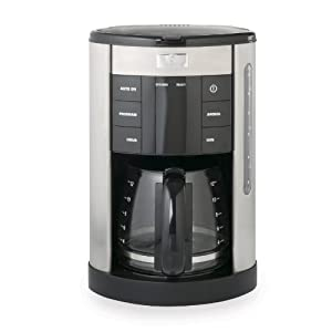 Master Chef MCCM12D 12-Cup Digital Stainless Steel Coffeemaker from TripleLoop Housewares