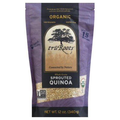 Truroots Organic Sprouted Quinoa, 12 Ounce -- 6 Per Case.