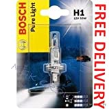 Bosch, H1 Pure Light, Car Light Bulb, 12 V / 55 W