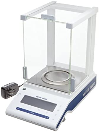 Mettler Toledo MS204S New Classic Analytical Balance 220 g Capacity, 0.0001 g Readability with Draft Shield