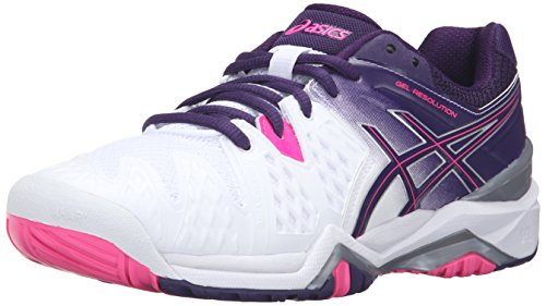 ASICS Women's GEL-Resolution 6 Tennis Shoe