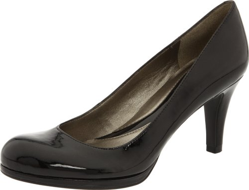 Naturalizer Women's Lennox Pump,Blackshiny,8.5 M US
