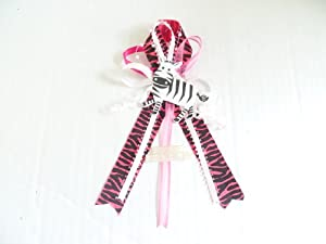 Amazon.com : Baby Shower Corsage Safari Jungle Zebra Baby Shower Theme