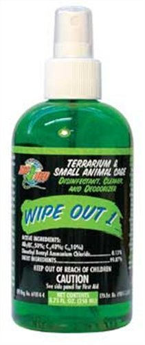 zoo-med-laboratories-szmwo14-wipe-out-1-terrarium-cleaner-425-ounce-by-zoo-med