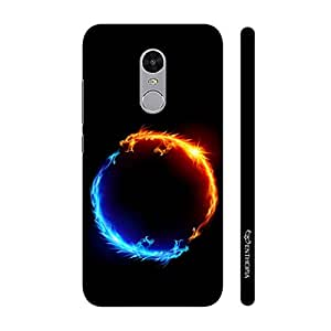 Enthopia Designer Hardshell Case I am Hot N' I am Cold Back Cover for Xiaomi Redmi Note 4