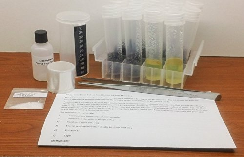 Microclone Seed Starting Kit with Tissue Culture Rescue-for Valuable and Old Seeds (Organic Cloning Gel compare prices)
