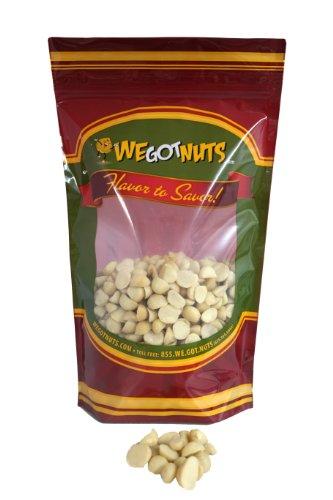 Raw Macadamia Halves And Pieces (10 Pound Case) - We Got Nuts