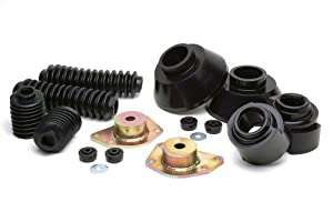 "Daystar KC09106BK Comfort Ride 2"" Lift Front and Rear Coil Spring Spacer Kit"