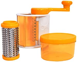 Casabella Grate'n Store Rotary Cheese Grater, orange at Sears.com