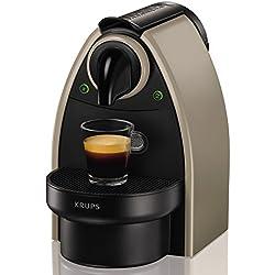 Nespresso Essenza XN2140 macchina per caffè espresso di Krups, colore Tortora Earth