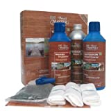 Outdoor & Garden Furniture Kit with Transparent Oil