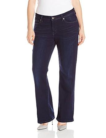 Levi's Women's 529 Curvy Bootcut Jean, Abbott Indigo, 4 Medium