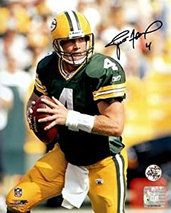 Brett Favre Autographed Hand Signed Green Bay Packers 16x20 Photo- Favre Hologram by Hall of Fame Memorabilia
