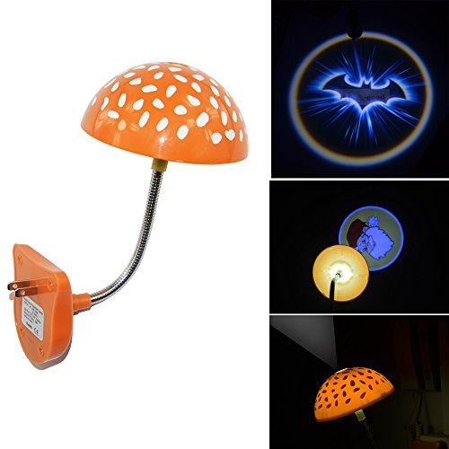 Cool Blue batman bat Night Bedroom Children room bar hotel Mushroom Ceiling roof LED logo shadow projection projector light sleeping lamp Infrared Sensor