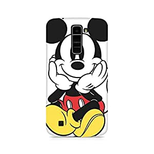 Ebby Colorful Mickey Premium Printed Case For LG K10