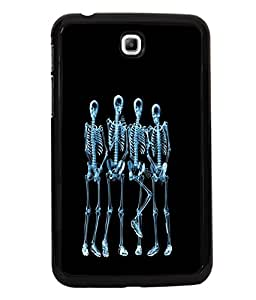 printtech Funny Xray Skeleton Back Case Cover for Samsung Galaxy Tab 3 7.0 :: Samsung Galaxy Tab 3 T211 P3200