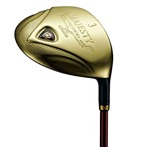 Maruman Prestigio Gold Premium Fairway Wood (Men's, Right-Handed, W3 Loft,Graphite, Regular Shaft)