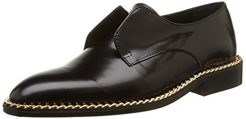 MySuelly Serge, scarpe da città da donna, Nero (Noir (Noir Chaine)), 39