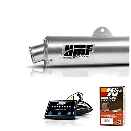 HMF Kawasaki Brute Force 750 2015 2016 3/4 Exhaust Muffler + EFI + KN (750 Brute Force Exhaust System compare prices)
