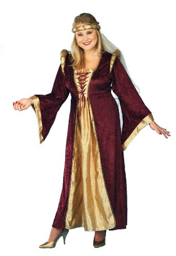 Renaissance Queen Adult Plus Costume