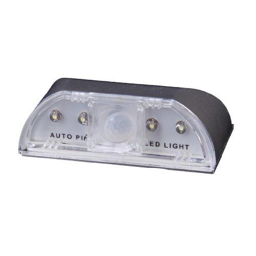 4 Led Auto Pir Infrared Wireless Door Keyhole Motion Sensor Light Lamp