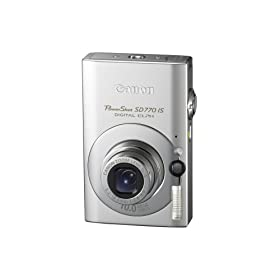 Canon PowerShot SD770 IS 10MP Digital Camera with 3x Optical Image Stabilized Zoom