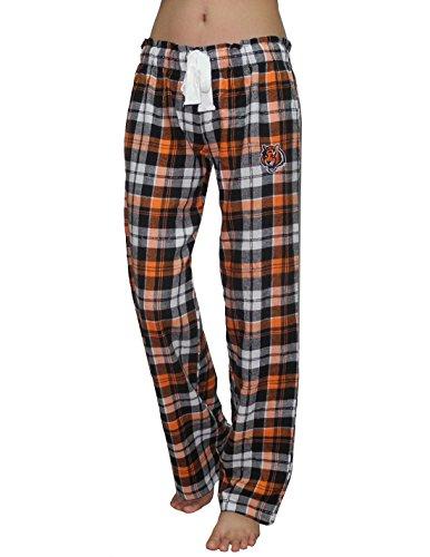 Nfl Cincinnati Bengals Womens Plaid Sleepwear / Pajama Pants S Multicolor