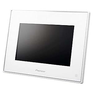 パイオニア デジタルフォトフレーム 「HAPPY FRAME」 7インチ ホワイト HF-T750-W