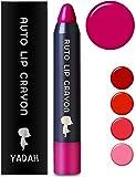 [YADAH] ヤダー オート リップ クレヨン (03. ピンク ホリック ) 2.5g | かわいい クレヨンリップ かわいい マット ピンク 色付き 唇彩