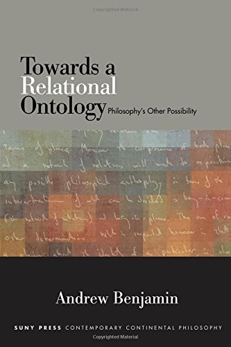 Towards a Relational Ontology: Philosophy's Other Possibility (SUNY series in Contemporary Continental Philosophy) PDF