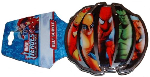 Marvel Heroes Limited Edition BELT BUCKLE