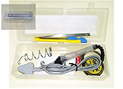 Satyam Nighties 7pc Soldering Kit Case Box 25Watt Iron + Cutter + Solder + Wick +Tweezer + Stand
