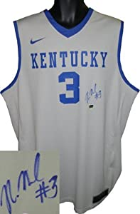 Nerlens Noel signed Kentucky Wildcats Gray Nike Elite Jersey XL by Athlon+Sports+Collectibles